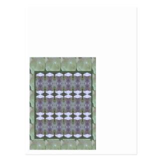 CRYSTAL STONE JEWEL DIY Template NVN435 LARGE Postcard
