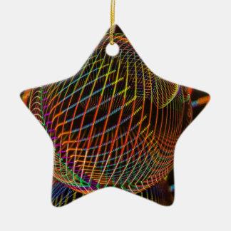 crystal strips Bright Christmas Ornament
