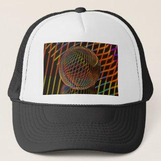 crystal strips Bright Trucker Hat