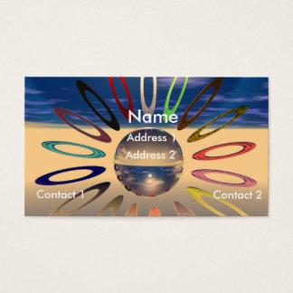 Crystal Sunburst Business Card