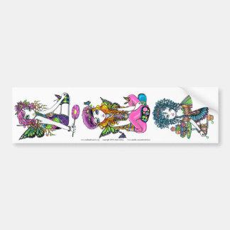 Crystal Sunny & Buttercup Rainbow Fae Sticker Set