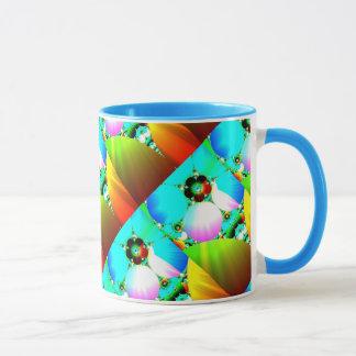 Crystal Sunrise - Abstract Fractal Rainbow