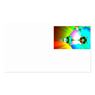 Crystal Sunrise - Abstract Fractal Rainbow Pack Of Standard Business Cards