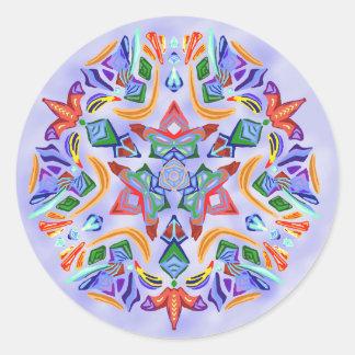 Crystal Symmetry Sticker
