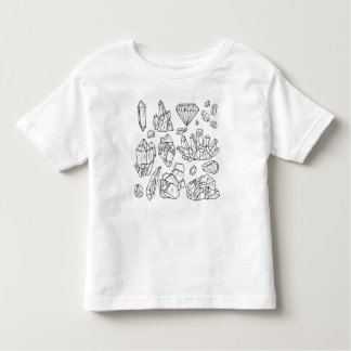 Crystal Tiger Toddler T-Shirt