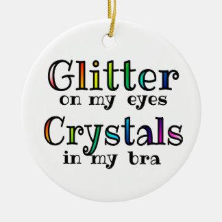 Crystal Vibes Christmas Ornament