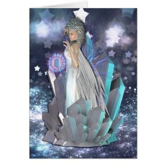 Crystal Visions Fairy Blessings Card