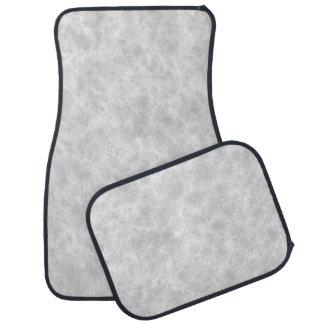 Crystal White Stone Pattern Background - Elegant Car Mat