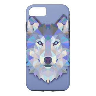 CRYSTAL WOLF Geometric Wolf Head iPhone 7 Case