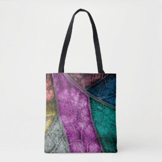 Crystalized Stained Glass Look tote and cross body