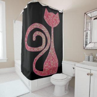 CrystalKatz Custom Trendy Cat Shower Curtains #cat