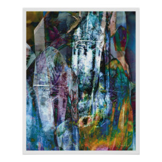 Crystalline Abstract 3 Poster