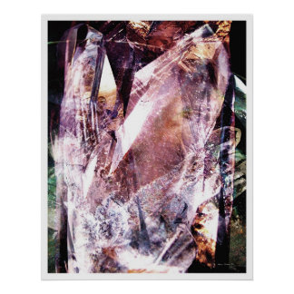 Crystalline Abstract 4 Poster