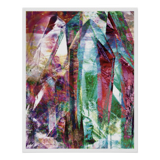 Crystalline Abstract 6 Poster