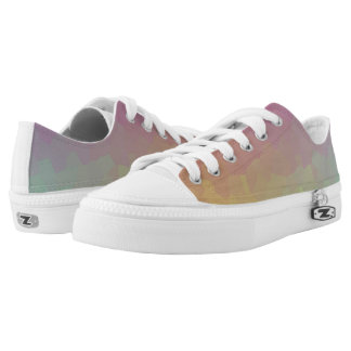 Crystalline Gradient Wallpaper Shoes