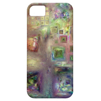 Crystalline Squares 8 iPhone 5 Cases