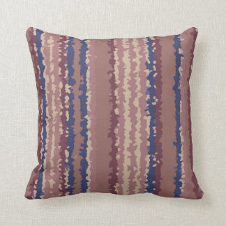 crystallize stripes pastel color cushion