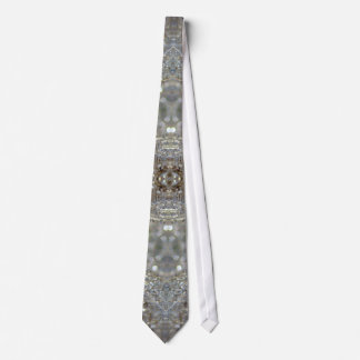 Crystallized Dandelions Tie