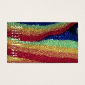Crystallized Rainbow business cards