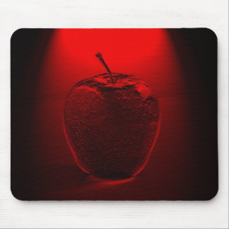 Crystallized Red Apple Mousepad