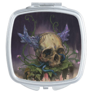 Crystallum Morte Travel Mirror
