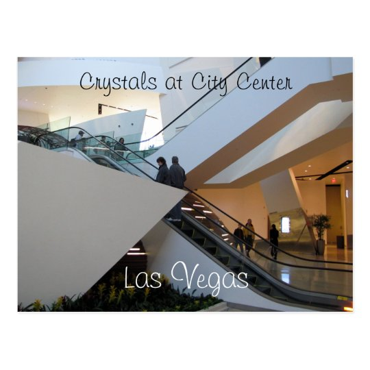 Crystals at City Centre, Las Vegas Postcard
