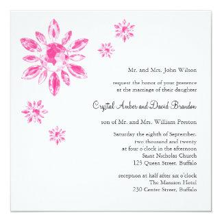Crystal's Wedding Invitation (white)