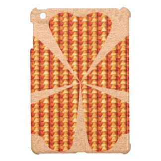Crystel Beads Golden Flower Love Romance fun GIFT iPad Mini Cases