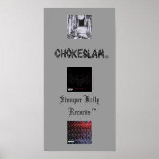CS Stomper Bully Records Poster