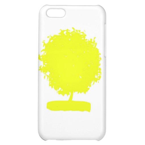 CsA004: Strange Yellow Tree iPhone 5C Cases