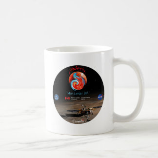 CSA and the Phoenix Lander Coffee Mug