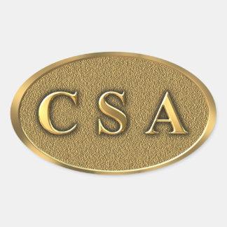 CSA Civil War Sticker