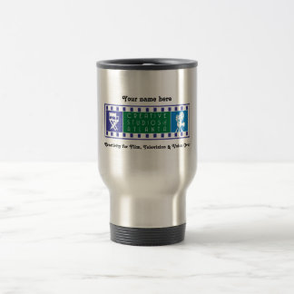 CSA Personalized Thermal Mug with Color Logo