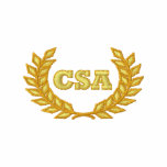 CSA with laurel (Embroidered) Embroidered Shirts