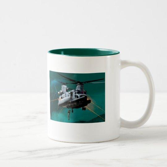 CSAR HH-47 Two-Tone COFFEE MUG
