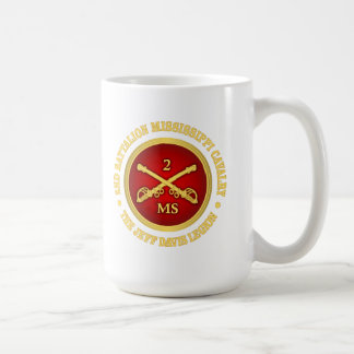 CSC -2nd Battalion Mississippi Cavalry Coffee Mug