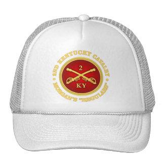 CSC -2nd Kentucky Cavalry (brass-red) Cap