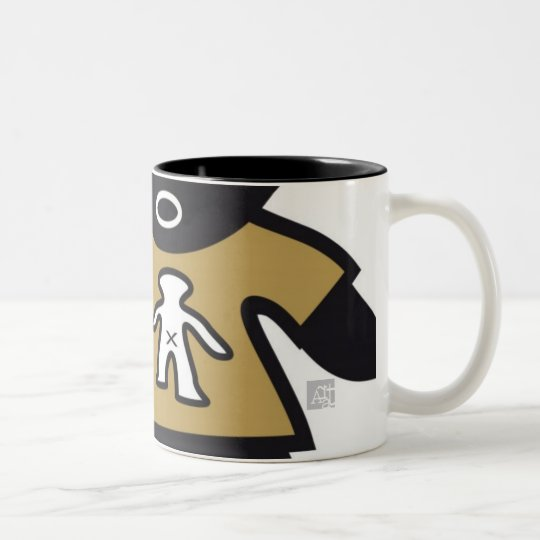 CSeeK Boy Two-Tone Coffee Mug