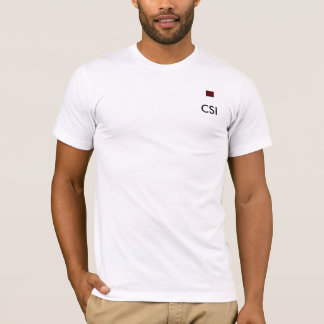 CSI Bloody fingerprint Tshirt
