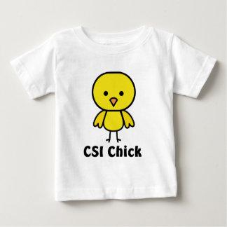CSI Chick Baby T-Shirt