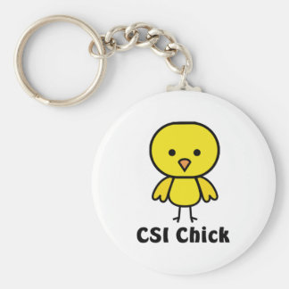 CSI Chick Keychain
