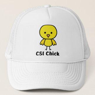 CSI Chick Trucker Hat