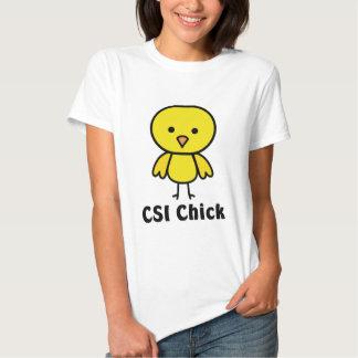 CSI Chick Tshirts