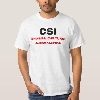 CSI, Chinese Cultural Association T-Shirt