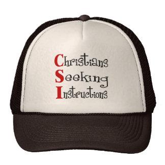 CSI Christian Acronymn Hats