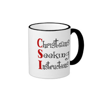 CSI Christian Acronymn Mugs
