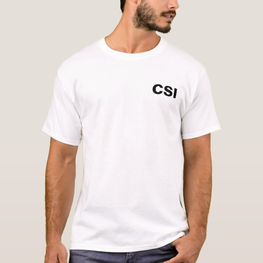 CSI - Crime Scene Photographer T-Shirt