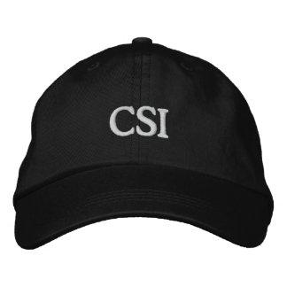 CSI EMBROIDERED CAP
