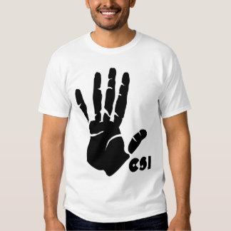 CSI handprint Shirt