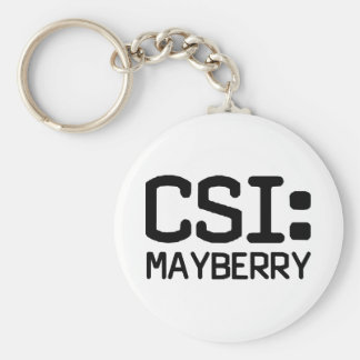 CSI Mayberry Basic Round Button Key Ring